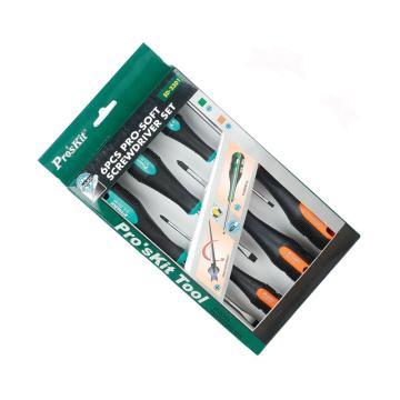 宝工 螺丝刀套装,十/一字6支组,SD2301