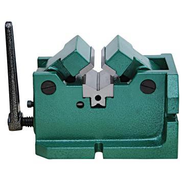 金丰 V型夹紧平口钳Q62100,夹持直径φ10-80mm