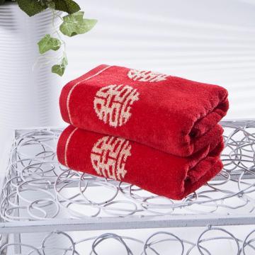 浮雕割绒喜庆浴巾 140*70cm 390g
