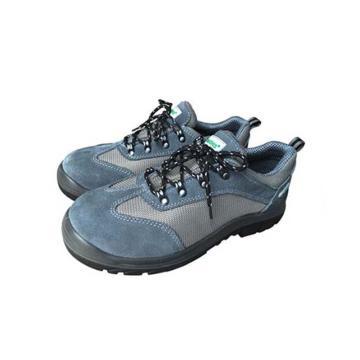 EHS 低帮运动款安全鞋,防砸防刺穿防静电,灰色,36,ESS1612