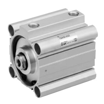 SMC 紧凑型气缸,单杆双作用,CDQ2KB20-10DZ