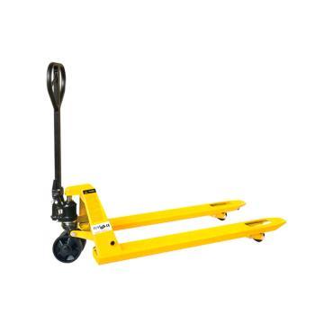 西林 DF系列手动液压搬运车(焊接泵),额定载荷(t):2.5,起升高度(mm):195/185,货叉外宽(mm):550,货叉长度(mm):1150