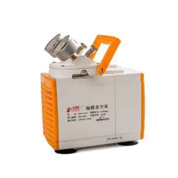 隔膜真空泵,GM-0.5B(防腐),津腾