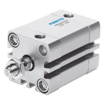费斯托FESTO 紧凑型气缸,ISO 21287,活塞杆杆端外螺纹,ADN-32-15-A-P-A