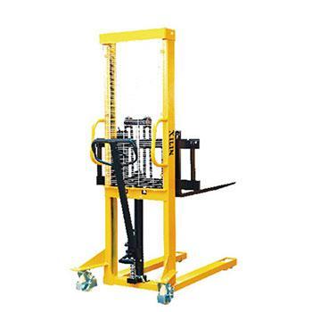 手动堆垛车(可调节货叉),额定载荷(t):1.5,起升高度(mm):1600