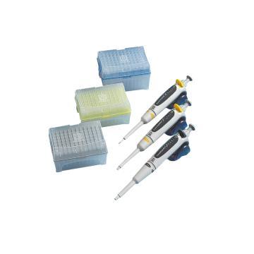 BRAND组合套装,三支装,20µl,200µl,1000µl,整支消毒,3个/箱