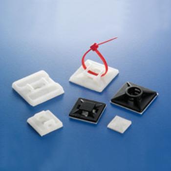 粘式配线固定座,线宽4.1,固定孔4 100个/包