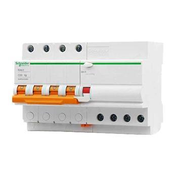 施耐德 Easy9微型漏电保护断路器 4P C63A/30mA/AC,EA9RN4C6330CNEW