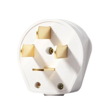 公牛BULL 三相四极可拆插头,GN-T25