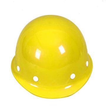 日月星 安全帽,玻璃钢安全帽,黄色