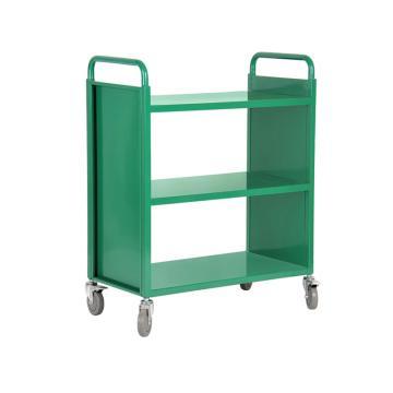 办公、图书用推车,尺寸(mm)长宽高:800*400*975,层间距(mm):320