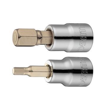 世达旋具套筒,10mm系列六角6mm,22204