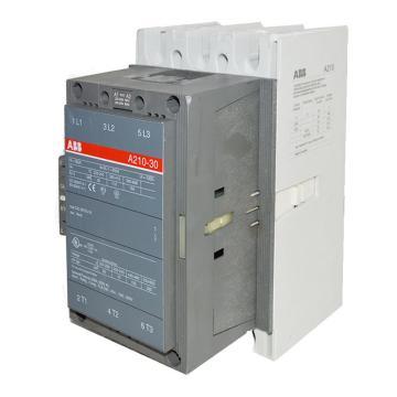ABB 接触器,A210-30-11(AC220-230V50HZ/AC230-240V60HZ)