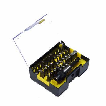 史丹利 31件6.3MM系列旋具头和快脱磁性接杆组套B,63-402-23