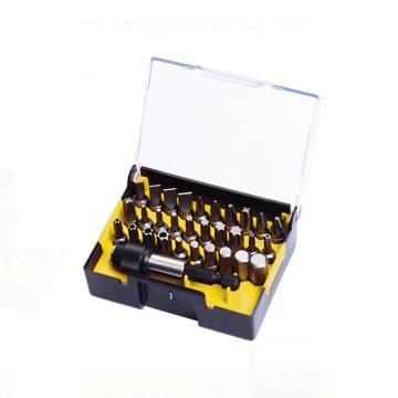 史丹利 31件6.3MM系列旋具头和快脱磁性接杆组套A,63-401-23