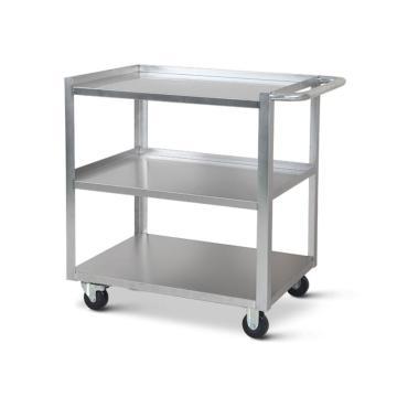 三层不锈钢单扶手小车,700*480*900mm