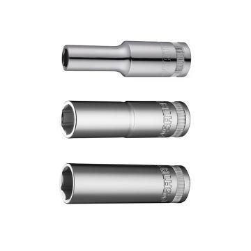 世达六角套筒,12.5mm系列19mm公制加长型,13410
