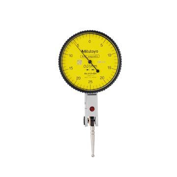 三丰 杠杆百分表,0-0.5mm 基本套装,513-424-10E