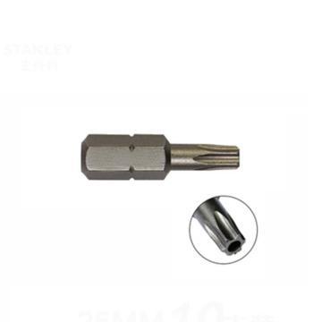 史丹利 6.3MM系列中孔花形旋具头TT10x25mm(x10),63-064T-23