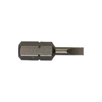 史丹利 6.3MM系列一字旋具头SL3.0x25mm(x10),63-001T-23