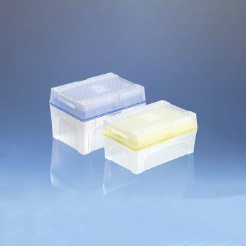 BRAND预装移液器吸头,Tip-Bo*N,50-1000µl,未灭菌,符合IVD标准,96个/盒,5盒/箱