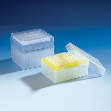 BRAND预装移液器吸头,Tip-Bo*N,50-1000µl,灭菌,BIO-CERT®符合IVD标准,96个/盒,10盒/箱