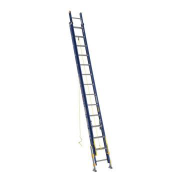 稳耐 绝缘两节延伸梯(带平衡器),踏台数:28,额定载荷(KG):136,工作高度(米):6.7,耐压(KV):35,D8228-2EQ