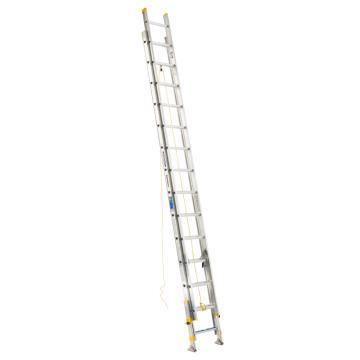 稳耐 2节延伸梯(带平衡器),踏台数:28,额定载荷(KG):102,工作高度(米):6.7,D1728-2EQ