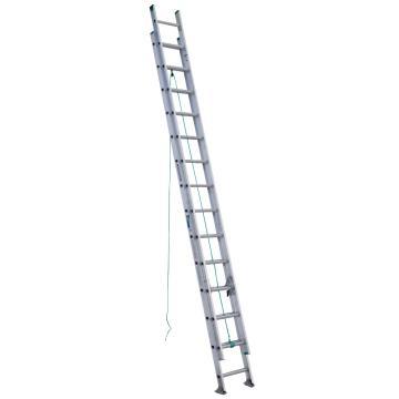 稳耐 D形踏棍2节延伸梯,踏台数:28,额定载荷(KG):102,工作高度(米):6.7,D1228-2