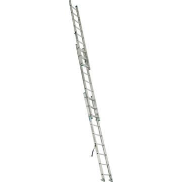 稳耐 D形踏棍3节延伸梯,踏台数:27,额定载荷(KG):102,工作高度(米):5.5,D1224-3