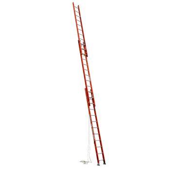 稳耐 D型踏棍绝缘3节延伸梯,踏台数:36,额定载荷(KG):136,工作高度(米):7.9,耐压(KV):35,D6232-3