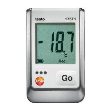 德图/Testo 温度记录仪,单通道,内置传感器,testo 175-T1,订货号:0572 1751