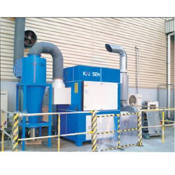 凯森 中央式烟尘净化器,KSFC-8609,吸气量6500~12000m³/h,电机功率7.5~15kW