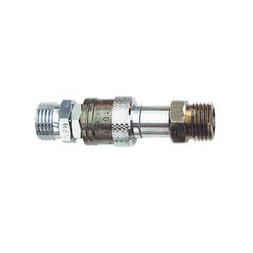 捷锐防逆快速接头,气管至气管联接用,HH55F,适用气体:燃气,进气螺纹:G3/8-LH(M)
