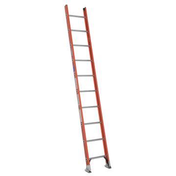 稳耐 D型绝缘踏棍直梯,踏台数:10,额定载荷(KG):136,工作高度(米):2.2,耐压(KV):35,D6210-1