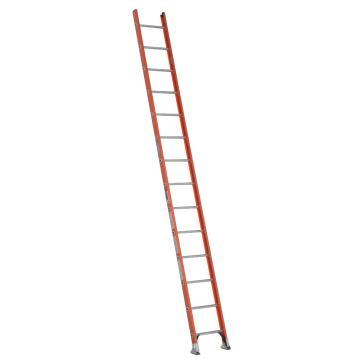 稳耐 D型绝缘踏棍直梯,踏台数:14,额定载荷(KG):136,工作高度(米):3.4,耐压(KV):35,D6214-1