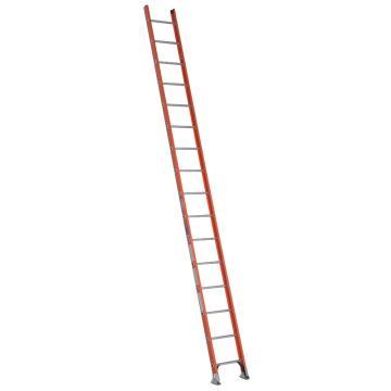 稳耐 D型绝缘踏棍直梯,踏台数:16,额定载荷(KG):136,工作高度(米):4.0,耐压(KV):35,D6216-1