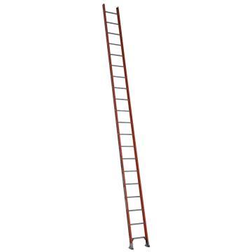 稳耐 D型绝缘踏棍直梯,踏台数:20,额定载荷(KG):136,工作高度(米):5.2,耐压(KV):35,D6220-1