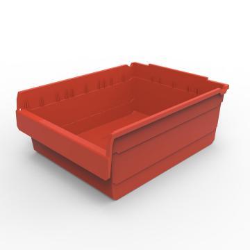 货架物料盒,不含分隔片,SF5420-红,500*400*200,20/箱