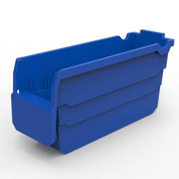 货架物料盒,不含分隔片,SF3115-蓝,300*100*150,20/箱