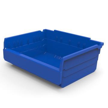 货架物料盒,不含分隔片,SF3415-蓝,300*400*150,10/箱