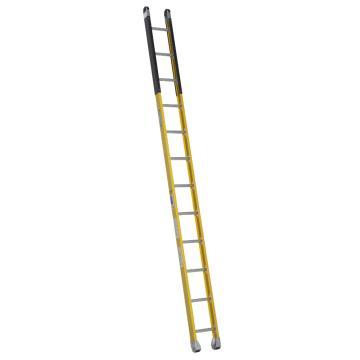 稳耐 绝缘沙井梯,踏台数:12,额定载荷(KG):170,工作高度(米):2.8,耐压(KV):35,M7112-1