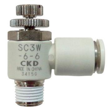 喜开理CKD 速度控制器,SC3W-15-10