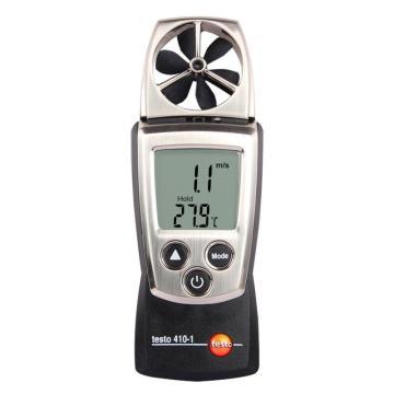 德图/Testo  testo 410-1叶轮式风速测量仪,内置NTC温度测量探头, 订货号:0560 4101