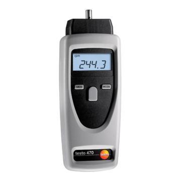 德图/Testo 转速测量仪, 光学式无接触测量和机械式测量,testo 470,订货号:0563 0470