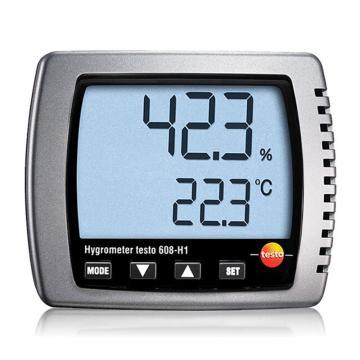 德图/Testo 数字式温湿度计,testo 608-H1,订货号:0560 6081