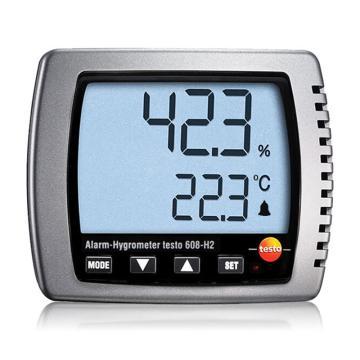 德图/Testo 数字式温湿度计,testo 608-H2,订货号:0560 6082
