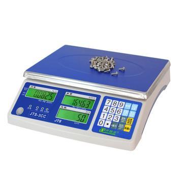 杰特沃 经济型电子计数秤,最小最大称量(kg):2*30