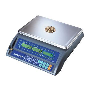 杰特沃 高精度计数电子秤,6kg,最小感量0.2g,计数解析度0.04g