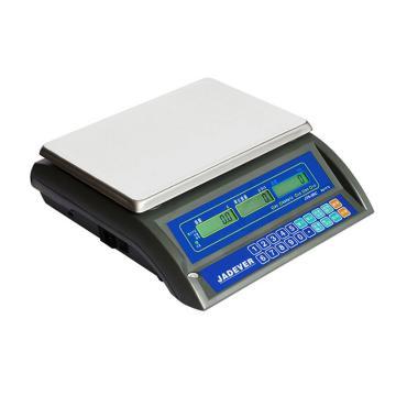 杰特沃 高精度计数电子秤,30kg,最小感量1g,计数解析度0.2g